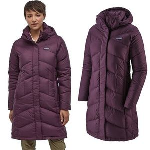 Patagonia Women's Down With It Parka Purple